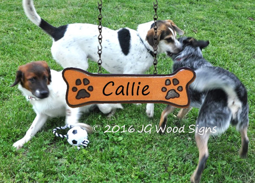 Custom Camp Sign Pet Name