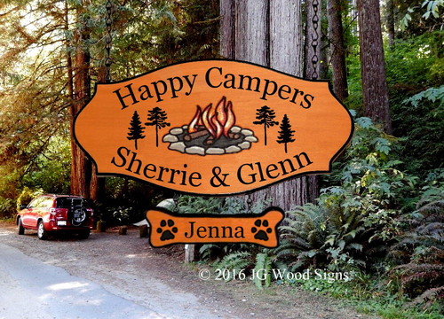 Personalized RV Signs