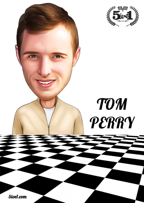 Tom Perry Poster