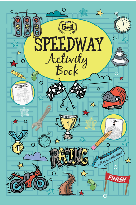 Speedway Activity Book