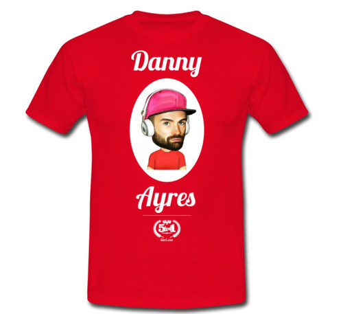 Danny Ayres Adult T-Shirt