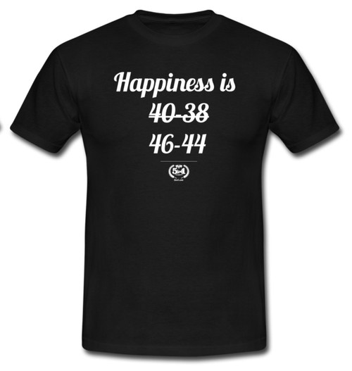 'Happiness Is...46-44'  Adult T-Shirt