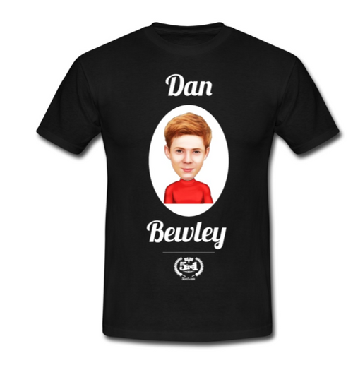 Dan Bewley Adult T-Shirt