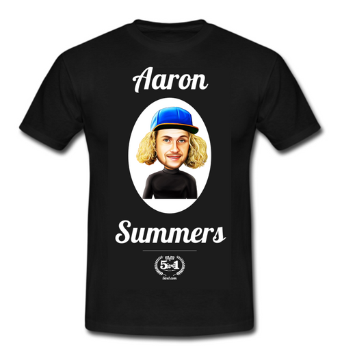Aaron Summers Adult T-Shirt - Black