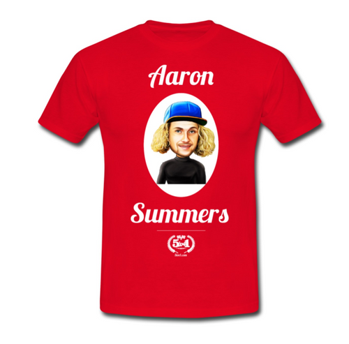 Aaron Summers Adult T-Shirt - Red