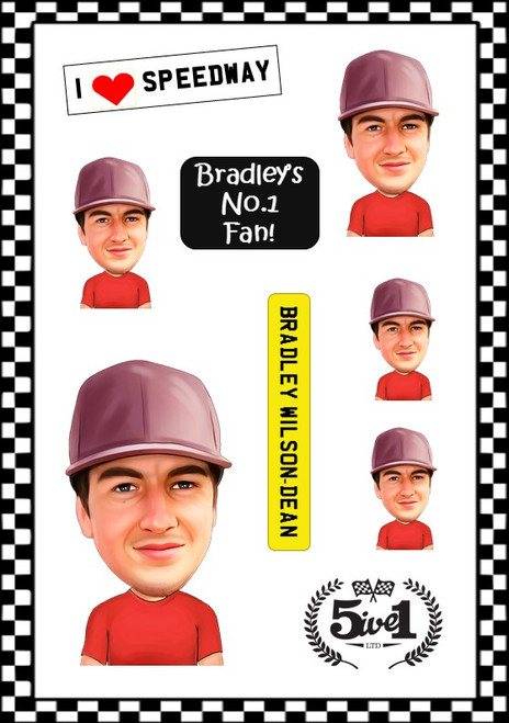 Bradley Wilson-Dean Sticker Sheet