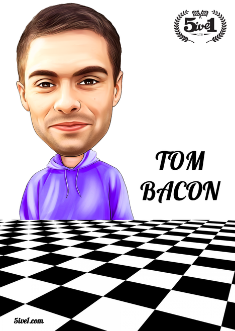 Tom Bacon Poster
