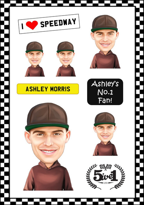 Ashley Morris Sticker Sheet