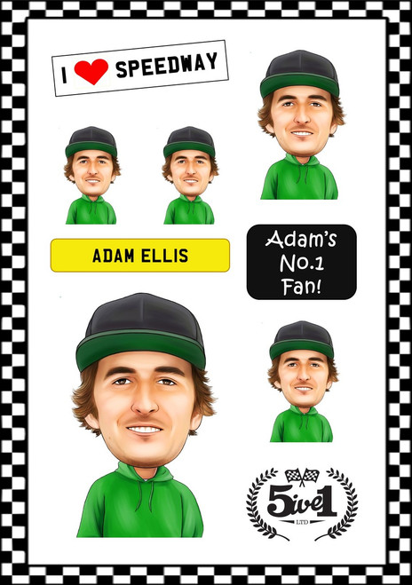 Adam Ellis Sticker Sheet
