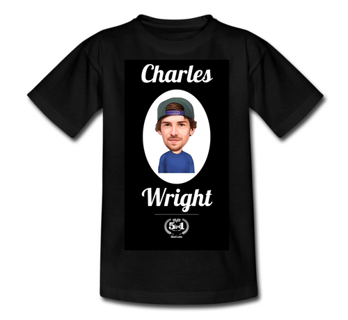 Charles Wright Adult T-Shirt - Black