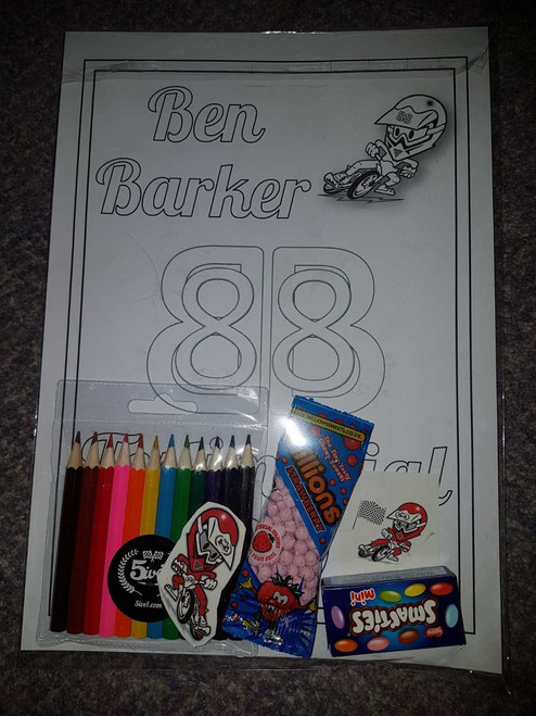 Ben Barker Testimonial Kids Activity Pack