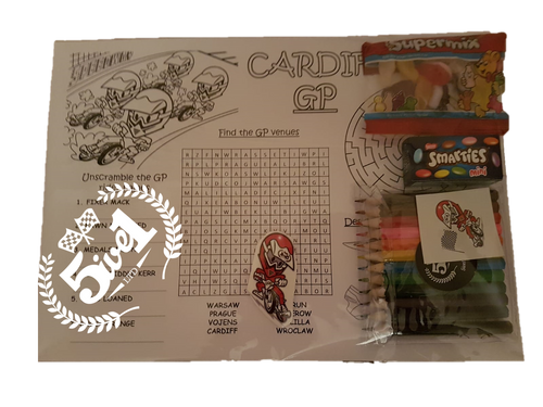 Kid's Activity Pack 3 - Cardiff GP - Puzzles
