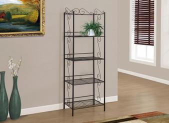 "Bookcase - 70""H Copper Metal Etagere (I 2103)"