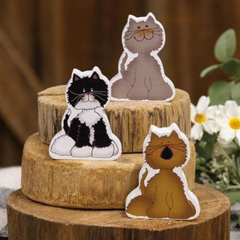 Chunky Kitty A - 3 Assorted (Pack Of 3)