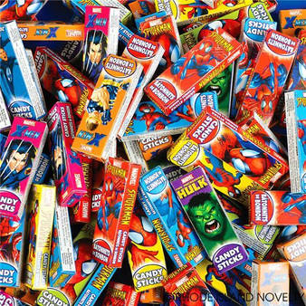(ZYCOMCA) Comic Pack Candy Stick