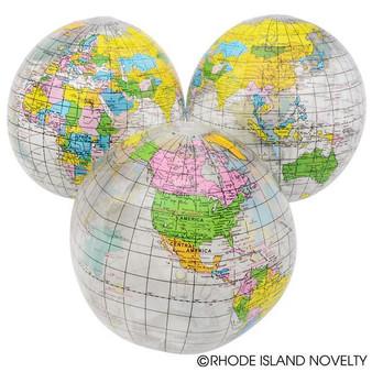 """(IBGLC12) 12"""" Clear Globe Inflate"""