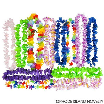 "(LUASTPO) 36""-42"" Lei Assortment (100Pcs/Pack)"