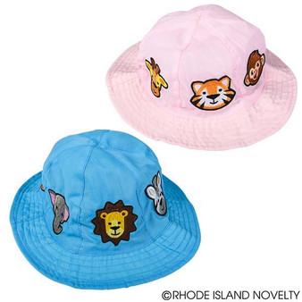 (HACHIZO) Child Size Zoo Animal Bucket Hat