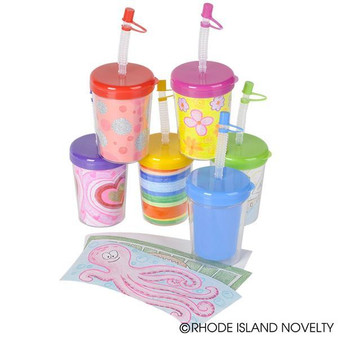 (CRDESSI) 8 Oz Design Your Own Sippy Cup