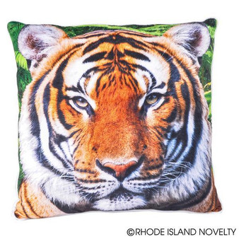 "(APPRTIG) 13"" Printed Tiger Pillow"
