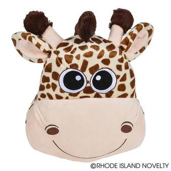 """(APPGI11) 11"""" Giraffe Pillow"""
