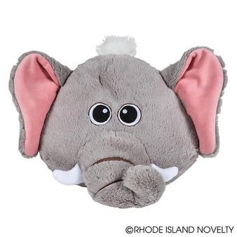 "(APPEL11) 11"" Elephant Pillow Plush"
