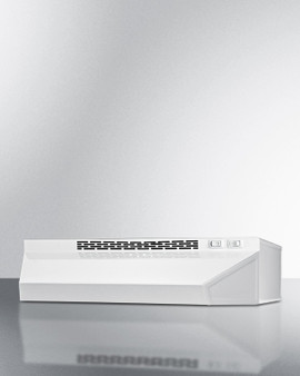 """(H1618SS) 18"""" Wide Convertible Range Hood For Ducted Or Ductless"""