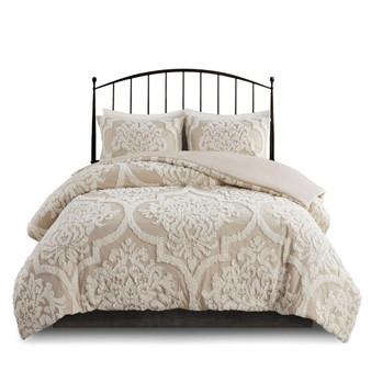 Viola 100% Cotton Tufted Comforter Set By Madison Park MP10-7102