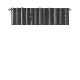 Brooklyn Cotton Jacquard Pom Pom Window Valance UH40-2372