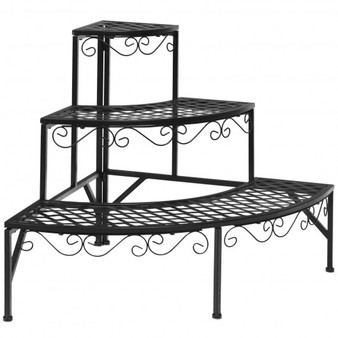 3 Tier Metal Corner Plant Display Rack (GT3525)