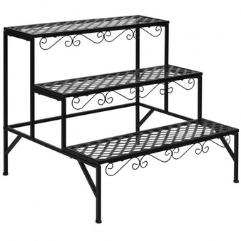 3 Tiers Metal Decorative Plant Stand (GT3527)