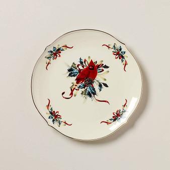 """853785"" Winter Greet Dinnerware Round Platter"