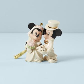 """""""877766"""" Minnies Dream Wedding Ornament"""