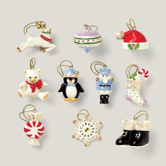 """867170"" Christmas Memories 10 Pc Ornament Set"