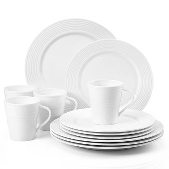 """""""6387237"""" Tin Can Alley Dinnerware 7 Degree 12 Pc Set"""