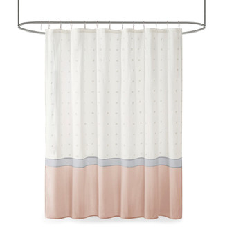 Myla Cotton Jacquard Shower Curtain UH70-2385