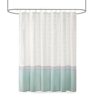 Myla Cotton Jacquard Shower Curtain UH70-2386