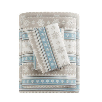Woolrich Flannel Cotton Sheet Set - Cal King WR20-1789