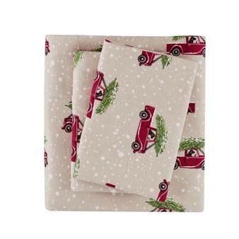 Woolrich Flannel Cotton Sheet Set - King WR20-2041