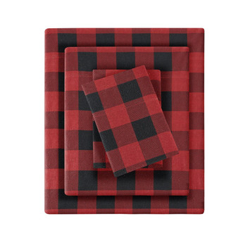 Woolrich Flannel Cotton Sheet Set - King WR20-2286