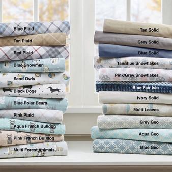 True North By Sleep Philosophy Cozy Flannel Sheet Set -Queen TN20-0254