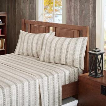 Woolrich Flannel Cotton Sheet Set -King WR20-1791