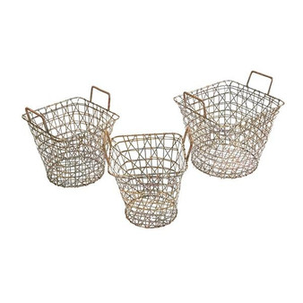 Madison Park Havana Basket Set Of 3 MP163-0184