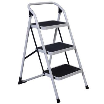 Hd 3 Step Ladder Platform Lightweight Folding Stool (TL29083)
