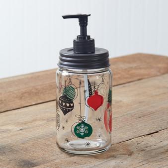 Christmas Ornament Soap Dispenser