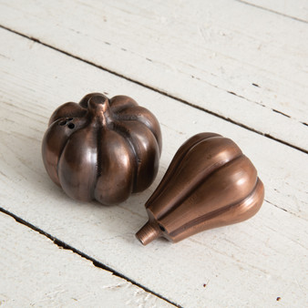 Pumpkin And Gourd Salt And Pepper Shakers
