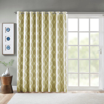 Blakesly Printed Ikat Blackout Patio Curtain - SS40-0187