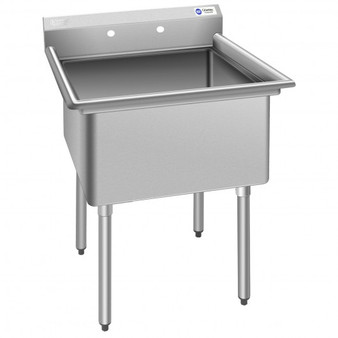 Compartment Commercial Kitchen Sink With Drain Strainer (KC52300)