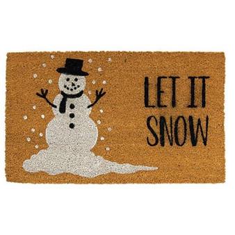 Let It Snow Door Mat G1200018