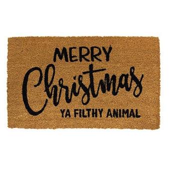 Merry Christmas Ya Filthy Animal Door Mat G1200019